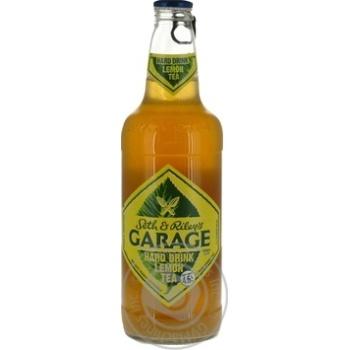 Пиво Seth & Riley's GARAGE Hard Lemon Tea світле спеціальне 4.6% 0.44л