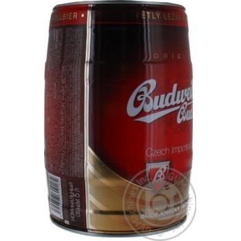 Budweiser Budvar Light Beer Can 5% 5l - buy, prices for MegaMarket - image 3