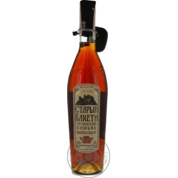 Staryi Kakheti 7 stars Cognac 40% 0,5l - buy, prices for Novus - image 1