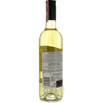 Вино Banrock Station Шардоне белое сухое 0,75л - купить, цены на Метро - фото 2