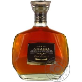 Shabo XO Grape brandy 10y.o. 40% 0,5l - buy, prices for Furshet - image 3