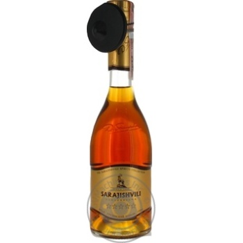 Sarajishvili 5 yrs cognac 40% 0,35l - buy, prices for Novus - image 1