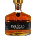 Cognac Bolgrad 40% 500ml glass bottle Ukraine