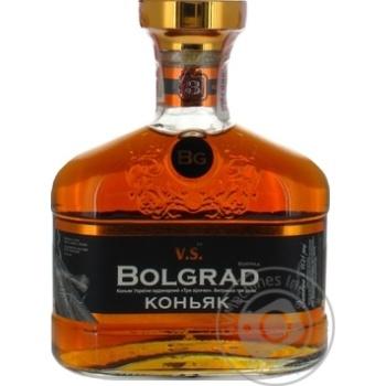 Коньяк Bolgrad VS ординарный 3 звезды 40% 0,5л