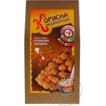 Korisna Konditerska Shortbread Cookies with Baked Milk without Sugar 300g - buy, prices for CityMarket - photo 5