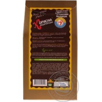 Печенье Корисна Кондитерська песочное с топленым молоком без сахара 300г - купить, цены на Novus - фото 4