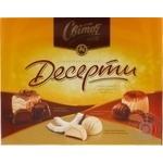 Конфеты Свиточ Палитра Десерты с изысканными начинками 197г Украина