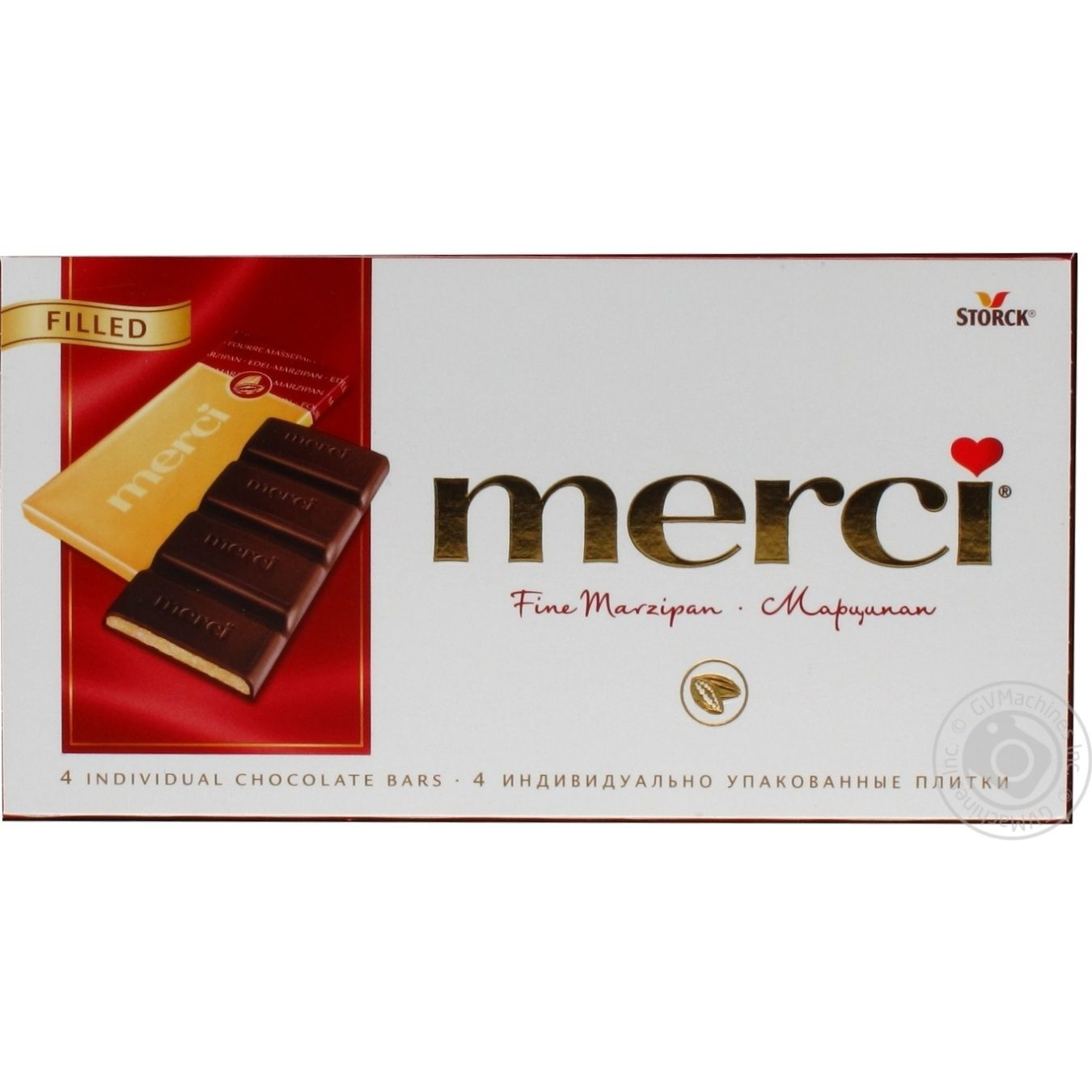 Chocolate Merci 112g Germany → Snacks, Sweets and Chips ...