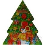 Подарунок новорічний Рошен № 7 Новорічна ялинка, 441г