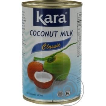 Кокосове молоко Kara Classic 17% 425мл - купити, ціни на Ашан - фото 5