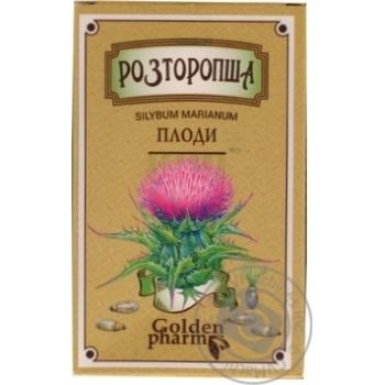 Seeds silybum Golden pharm for diabetics 100g - buy, prices for Auchan - image 1