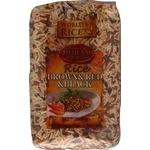 Рис World's rice черный + красный + натурал 500г
