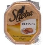 Food Sheba Classic with poultry meat for cats 170g