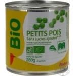 Auchan Bio Canned Peas