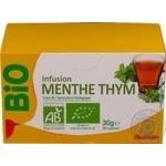 Tea Auchan mint 30g
