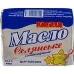 Масло Кагма Селянское сладкосливочное 73% 200г