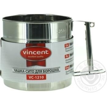 Чашка-сито Vinsent для муки