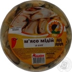 Auchan in oil seafood mussles 190g