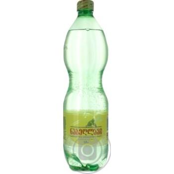 Вода Набеглави сильногазированная лечебно-столовая 1л