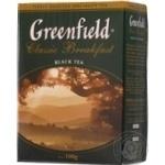 Чай Гринфилд Класик Брекфест черный крупнолистовой 100г