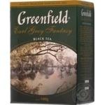 Черный чай Гринфилд Эрл Грей Фентези цейлонский с бергамотом листовой 100г