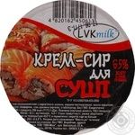 Крем-сыр ЛВК -Мілк Для суши 65% 200г
