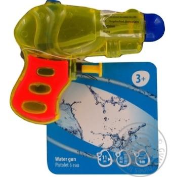 Пистолет One Two Fun водный 11см - купить, цены на Ашан - фото 2