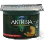 Danone Activia Peach And Mussels Bifidoyogurt 3%