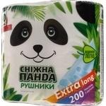 Полотенца бумажные Сніжна панда Extra Long 2шт/уп
