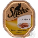 Sheba Poultry For Cats Pate