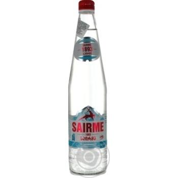 Вода Саирмэ газированная стеклянная бутылка 0,5л - купить, цены на МегаМаркет - фото 1