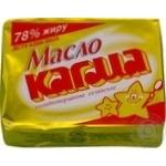 Масло Кагма Селянское сладкосливочное 78% 200г