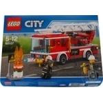 Конструктор LEGO City Fire Пожежна машина з драбиною 60107