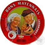Сыр Bons Mayennais Камамбер 48% 250г