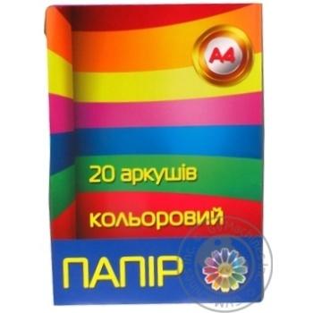 Paper Tetrada 20pcs - buy, prices for Novus - image 1