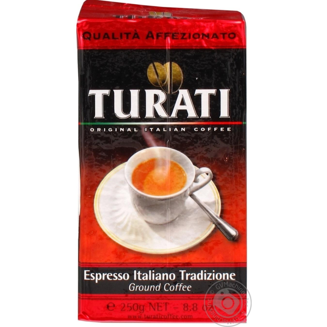Кава натуральна смажена мелена Turati Qualita Affezionato 250г ... 8f088113f1200