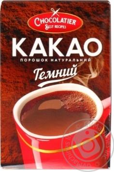 Скидка на CHOCOLATIER КАКАО-ПОР ТЕМН 80Г