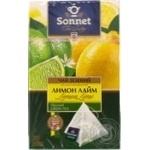 Sonnet Tea Poetry Green Tea Lemon Lime 20pcs 2g
