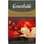 Greenfield Vanilla Cranberry Black Tea 100g
