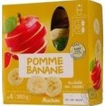 Puree Auchan Auchan banana 360g