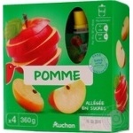 Puree Auchan Auchan apple 360g