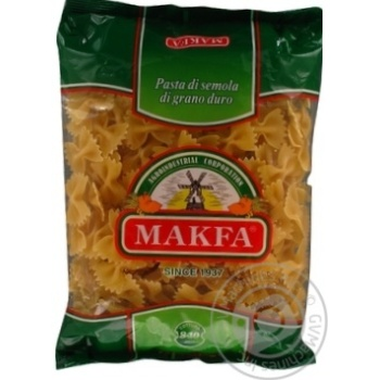Макаронные изделия Makfa бантики 400г