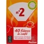 Фильтр Ашан для кофе 40шт - купить, цены на Ашан - фото 3