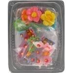 Набор украшений Украса бабочки и цветы