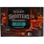Конфеты шоколадные Roshen Shooters с ромовым ликером 150г