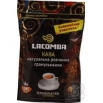 Natural instant granulated coffee Lacomba Classimo 75g