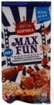 Chocolate milky Korona Max fun bars 160g