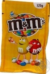 Драже M&M's с арахисом и молочным шоколадом в разноцветной глазури 125г