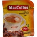 Beverage Maccoffee with coffee instant 18g stick sachet