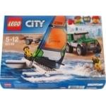 Конструктор Lego city 4х4 с катамараном 60149